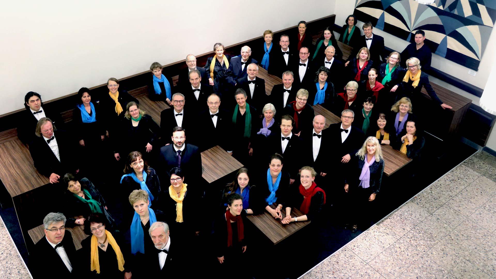 Singakademie Rostock - Gruppenfoto 2018